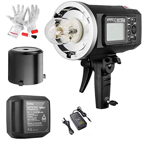 Godox AD600BM Bowens Mount 600Ws GN87 High Speed Sync Outdoor Flash Strobe Light with...