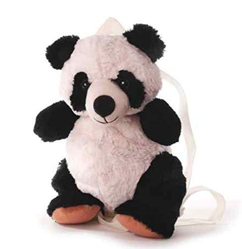 Panda-Rucksack Inware schwarz-weiß, 33x18 cm