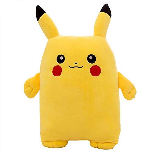 Pluche Grote Pikachu Knuffel Pokemon Ragdoll-Yellow_60cm