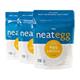 neat - Plant-Based - Egg Mix (4.5 oz.) (Pack of 3) - Non-GMO, Gluten-Free, Soy Free, Egg S...