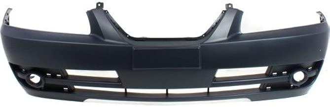 Front Bumper Cover Compatible with 2004-2006 Hyundai Elantra Primed Sedan