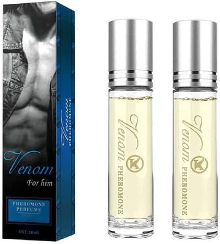 Perfume erótico de pareja íntima de 2 piezas, perfume con purpurina de feromonas de Romantica, perfume de feromonas lujuriosas de Flirtyaroma, perfume de feromonas original dulce...
