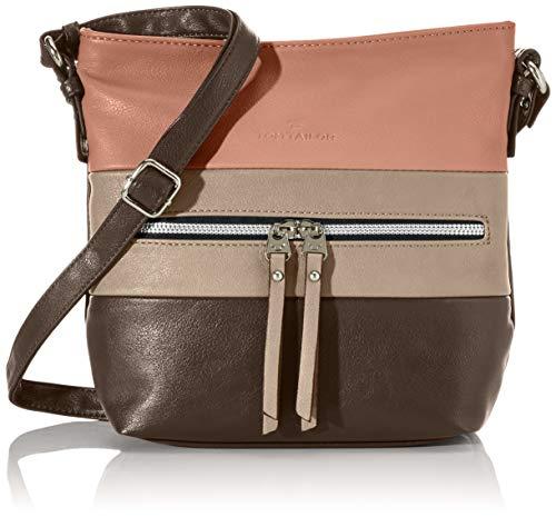 TOM TAILOR Umhängetasche Damen Ellen, (Grau), 25.5x23.5x5.5 cm, TOM TAILOR Handtaschen, Taschen für Damen, klein