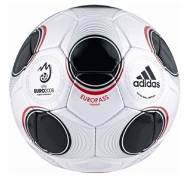 Adidas Fußballball Ball Europass EURO 08 Replique ist neu und originalverpackt. Gr. 5