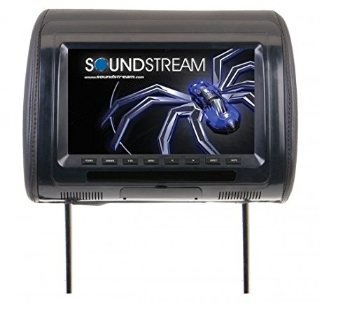 Soundstream VH-70CC Universal Headrest with 7″ LCD/3 Color Covers