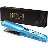 Best Flat Irons For African American Hairs - KIPOZI Pro 1.75 Inch Wide Hair Straightener, Nano Review