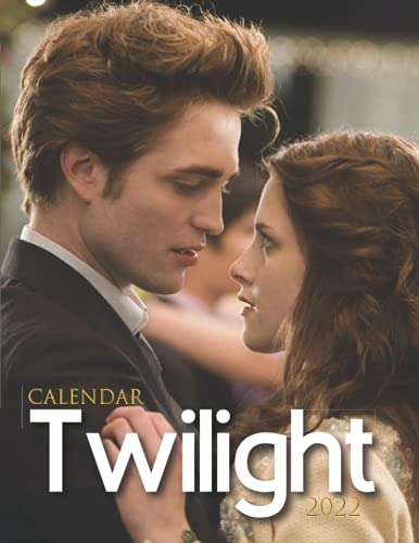 Twilight 2022 Calendar: 18-month Grid Monthly Yearly Calendar for all ages and genders with 8.5'' x 11''