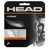 HEAD Unisex-Erwachsene Hawk Set Tennis-Saite, White, 17