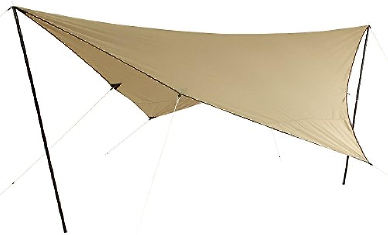 10T Tarp T C 4x4 m Sonnensegel UV 80+ Sonnenschutz wasserdichtes Sonnendach Baumwoll-Mischgewebe