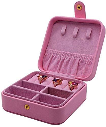 JOMOSIN SNH0216 - Caja de almacenamiento para pendientes, collar y anillo