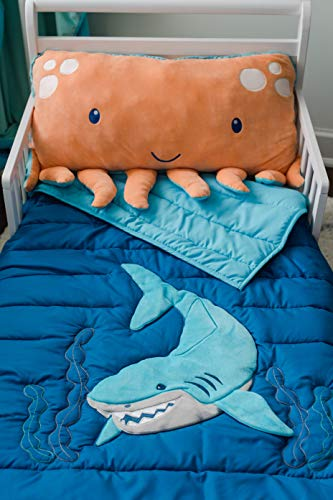 Animal Adventure Soft Landing Everyday Escapes Character Quilt  Ocean