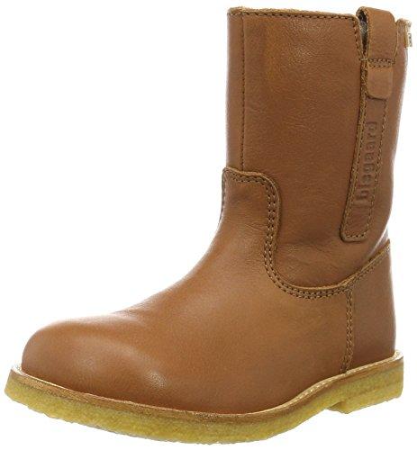 Bisgaard TEX Boot 60504216, dziecięce buty zimowe, brązowy - Braun 502 koniak. - 29 EU