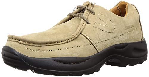 Woodland Men's Khaki Leateher Casual -11 UK/India (45 EU)-(G 4035Y15)
