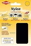 Kleiber 430-39 Nylon-Flicken, 12 x 10 cm, schwarz 2er-Set