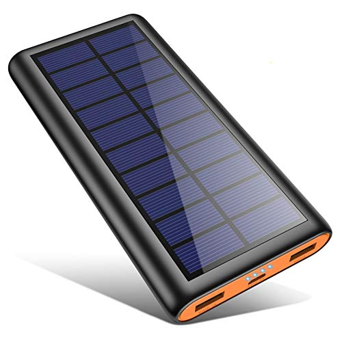 kilponen Power Bank Solare 26800mAh, 【2020 IC di...