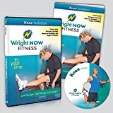 Knee Isolation Exercise and Stretch Workout DVD to Lessen Pain, Increase Strength, Improve Flexibility and Range of Motion with Aaron Wright