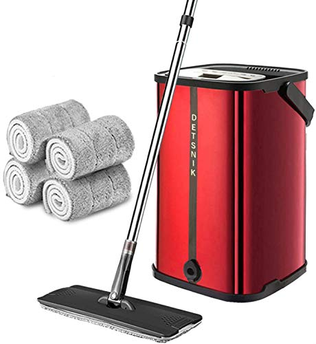 Flat Mop and Bucket Stainless Steel System $35.74 (45% OFF)