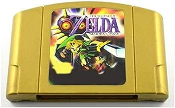 N64 Video Gamess Game Cartridge - Zeldaed Legend Majora's Mask English Language for 64 bit USA Version Video Game Cartridge Console