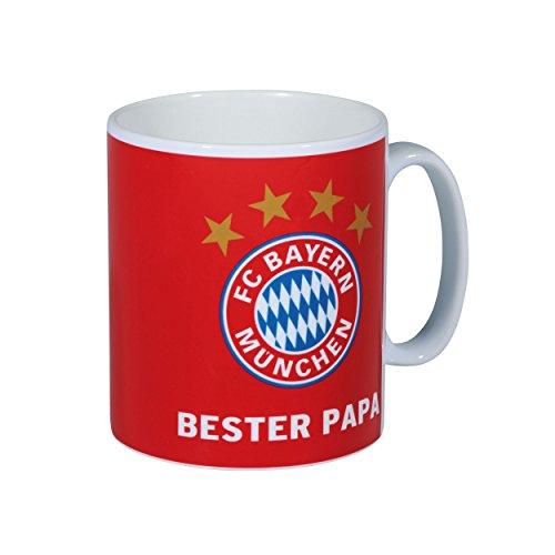 FC Bayern München Kaffeetasse, Tasse, Sprüchetasse, Mottotasse (Happy Birthday)