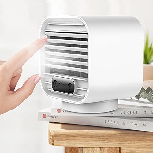 Enfriador de aire personal humidificador portátil USB cargable Mini Mute Spray Ventilador de enfriamiento para el hogar coche oficina