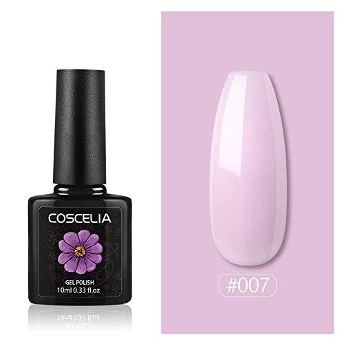 Coscelia 50 Farben #7 einzelne Packung Farbgel Gellack UV Gel Lacken Nagelkunst Nageldesign