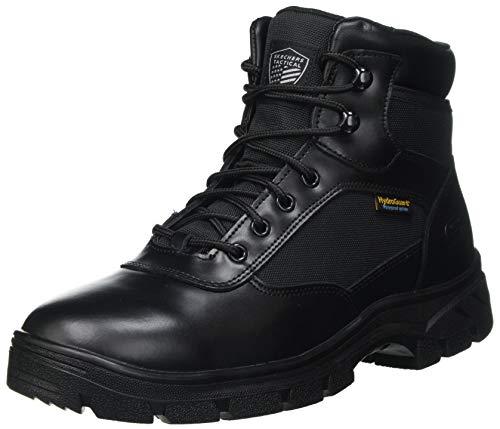 Skechers WASCANA BENEN, Bota Industrial Hombre, Black, 41 EU