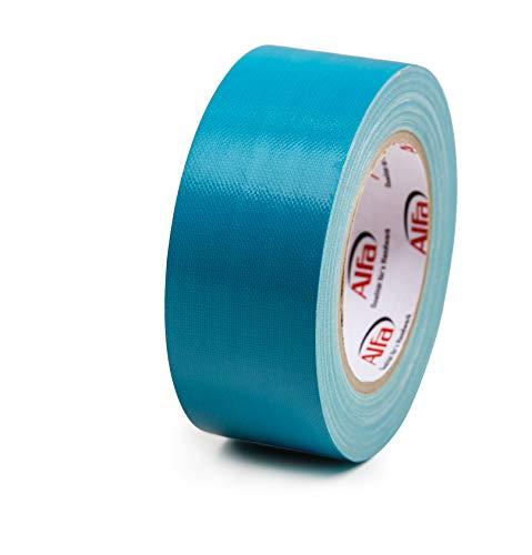 2x UV-beständiges Klebeband Gewebeband blau 35/50mm x 25m Panzer-Tape (2x 50mm x 25m)