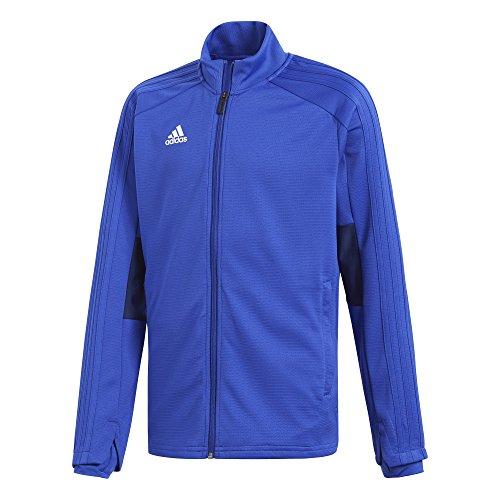 adidas Kinder Condivo 18 Trainingsjacke, Bold Blue/Dark Blue/White, 116