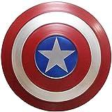 Escudo Capitan America Metal 1: 1 Legendary Series Movie Props SuperhéRoe Retro Disfraz Escudo Halloween Adultos Y NiñOs American Shield Bar DecoracióN A,47CM