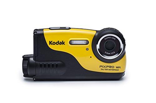 """Kodak WP1 cámara para Deporte de acción HD-Ready CCD 16,44 MP 25,4/2,3 mm (1/2.3"""") 130 g - Cámara Deportiva (HD-Ready, 1280 x 720 Pixeles, 30 pps, CCD, 16,44 MP, 16,44 MP)"""