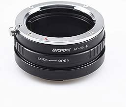 AF to Nikon Z Lens Adapter, Compatible with for Sony Alpha A Minolta MA AF Lens to for Nikon Z Mount Z6 Z7 Z50 Full Frame Camera