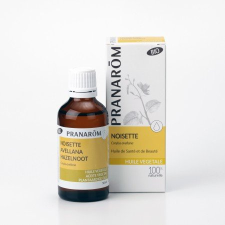 ヘーゼルナッツ油 50ml プラナロムの最高級植物油:キャリアオイル