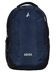 ADISA 32 Liters 46 cms Laptop Backpack (BP005-NAV_Navy Blue),ADISA,BP005