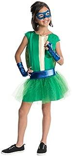 Rubie's Teenage Mutant Ninja Turtles Deluxe Child's Leonardo Costume Tutu Dress, Large