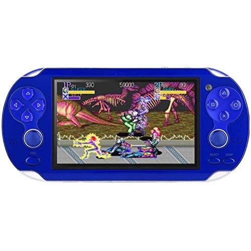 UFAVOR Klassische Spielekonsole, 4,3-Zoll-HD-Bildschirm Handheld Retro-Spielekonsole...