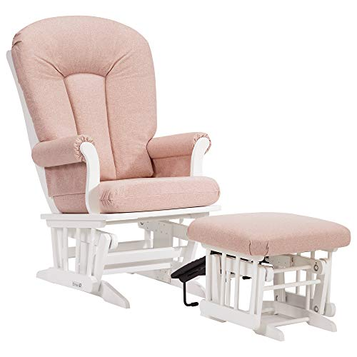 Dutailier Sleigh 0365 Glider Chair with Nursing Ottoman Included