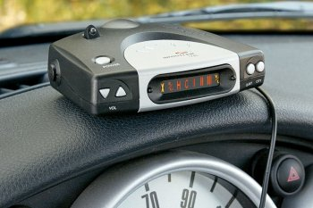 small Whistler 1745 Radar Detector
