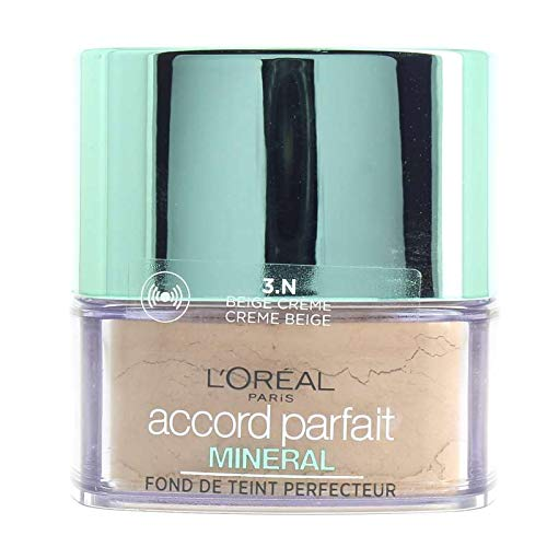 L \'Oréal Paris Make Up Designer polvo Accord Parfait Mineral 3N Beige crema