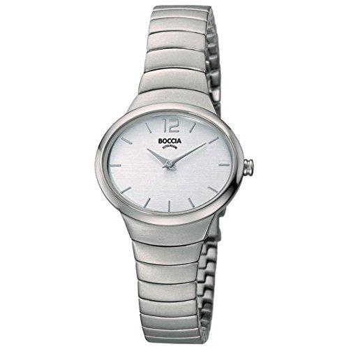 Boccia Reloj Analógico para Mujer de Cuarzo con Correa en Titanio 3280-01
