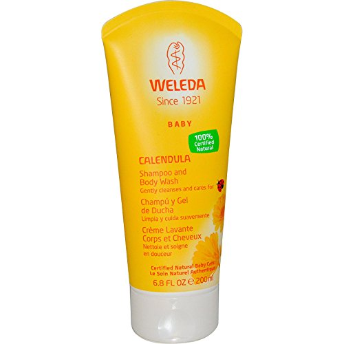 Weleda Baby Calendula Shampoo & Duschgel 200 Ml - Packung mit 2