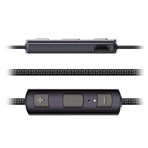 BoBoLily, Auriculares,impermeables, inalámbricos, auriculares de alta fidelidad con imán deportivo inalámbrico Bluetooth 4.1 en la oreja-122915.03