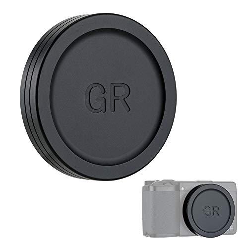 Tapa Objetivo para Ricoh GR III GR II cámara (Metal)