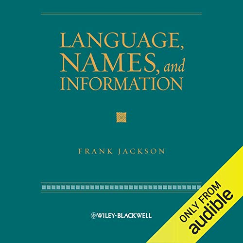 Language, Names and Information cover art