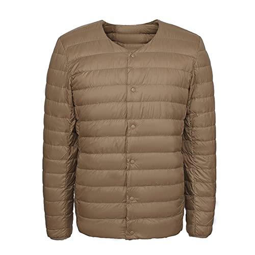 NP Chaqueta abajo de los hombres con la chaqueta para los hombres delgado a prueba