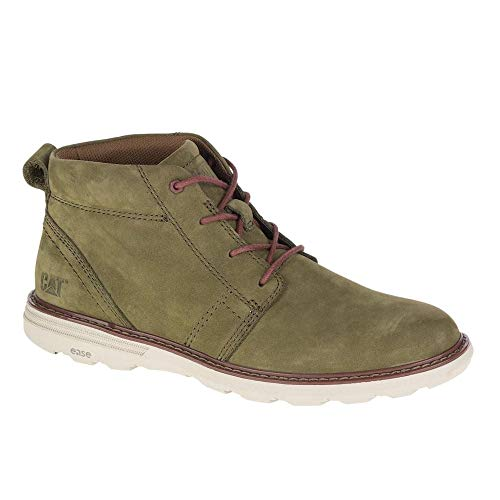 Caterpillar Zapatos Trey Olive Nubuck Ankle Lace Up Desert Boot para hombre P721891 Size: 40 EU