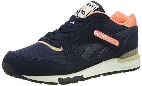 Reebok Damen GL 6000 Out-Color BD1580 Sneaker, Mehrfarbig (Blue,pink 001), 35.5 EU