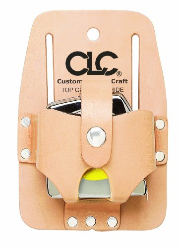 Custom Leathercraft 464 Heavy Duty Measuring Tape Holder, 16-30 in.,tan