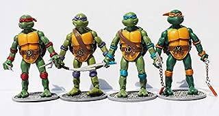 BRANSALES TMNT Teenage Mutant Ninja Turtles Action Figures (TMNT Figure 01)
