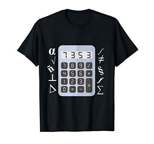 Schlecht in Mathe aber Humor ESEL Taschenrechner T-Shirt