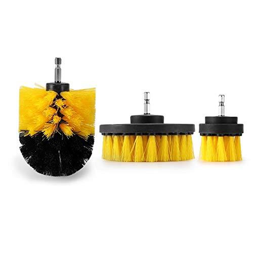 YDM 3Pcs Poder Depurador Sistema De Cepillo Eléctrico